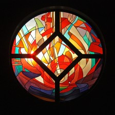 Goodfellow AFB Chapel, Altar: Jeff G. Smith, Architectural Stained Glass, Inc., Texas