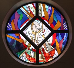 Goodfellow Air Force Base Chapel: Jeff G. Smith, Architectural Stained Glass, Inc., Texas