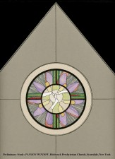 Passion Window, Jeff Smith, Architectural Stained Glass, Inc., Fort Davis, Texas
