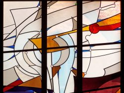 Detail: First Congregational Church, Boulder: Jeff G. Smith, Architectural Stained Glass, Inc.