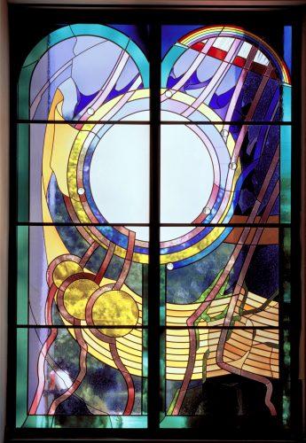 Genesis (Bereshit) Window (photo ©HD Photography, Wash, DC)