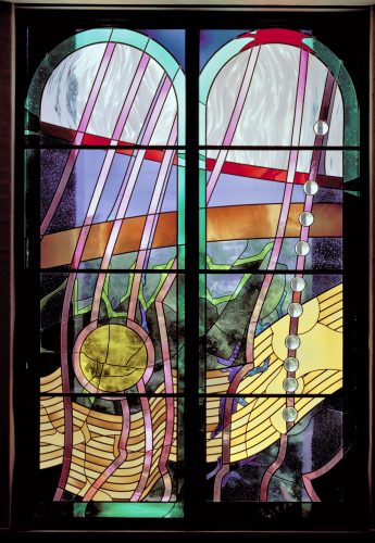 Exodus (Shemot) Window (photo ©HD Photography, Wash, DC)