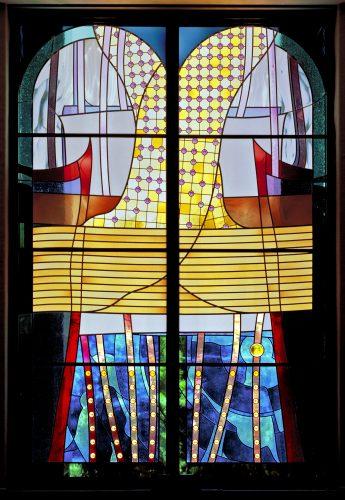 Leviticus (Va-Yikra) Window (photo ©HD Photography, Wash, DC)