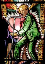 Hard Rock Cafe, Architectural Stained Glass, Jerry Lee Lewis