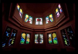 Baylor University Medical Center, Chapel: Jeff G. Smith, Architectural Stained Glass, Inc., Texas
