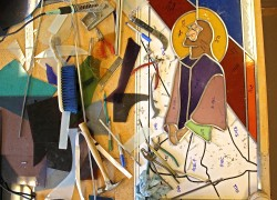 "Making of ""Agony in the Garden"": Jeff Smith, Architectural Stained Glass, Inc."