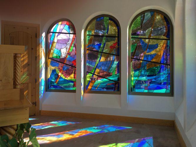 East Reservation Chapel Windows.