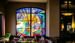 Richard Walker's Pancake House Architectural Stained Glass, Inc.