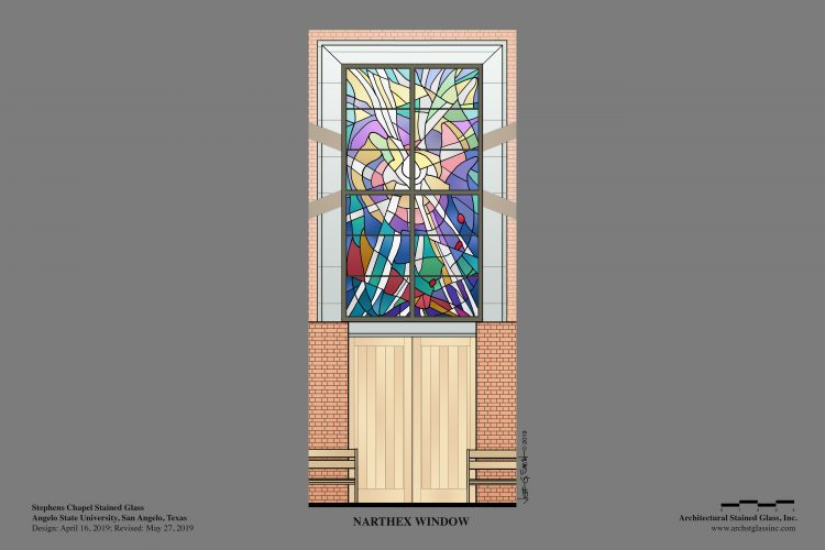 The Narthex Window.