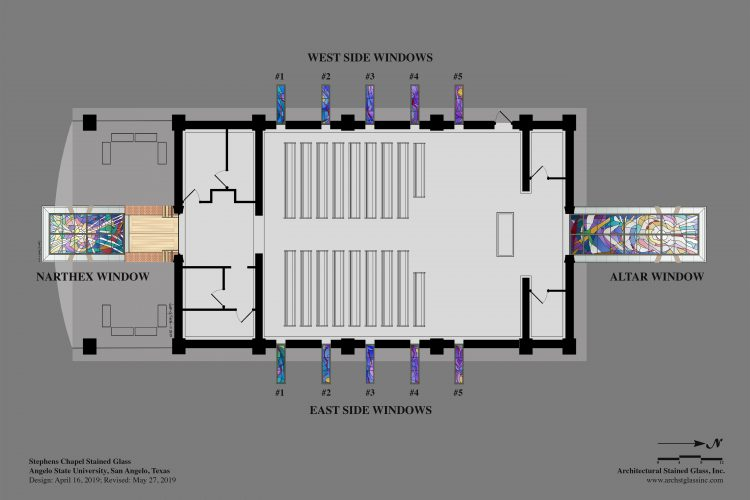 PLAN VIEW with windows