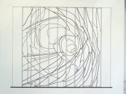 """Line-drawing for """"Galaxy II"""""""