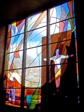 C.C. Young, Chapel, Dallas: Architectural Stained Glass, Inc., Fort Davis, Texas