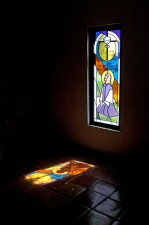 """""""If It Be Thy Will - Agony In The Garden"""" (detail), Architectural Stained Glass"""