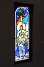 """""""O Holy Night"""" - Nativity Window, Jeff G. Smith, Fort Davis, Texas"""