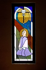 """""""If It Be Thy Will - Agony In The Garden"""", Architectural Stained Glass, Texas"""