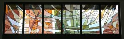 Columbarium Garden Window: Jeff G.Smith, Architectural Stained Glass, Inc., Fort Davis, Texas